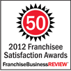 2012 Franchisee Satisfaction Awards
